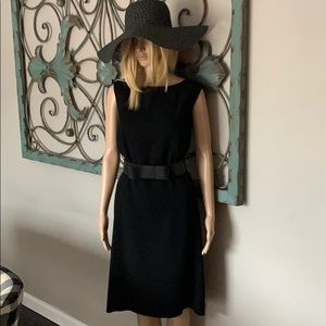 GORGEOUS DRESS FROM TALBOLTS! Like new! Black